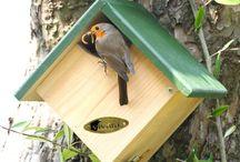 Fons Vogels en Vogelhuisjes