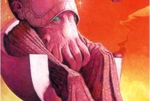 Atari Nosebleed / fantasy SF psychedelic pulp / by Christopher Wahamaki