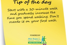 Walking Tips