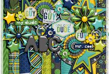 A Guy Thing / http://scraporchard.com/market/A-Guy-Thing-Digital-Scrapbook-Kit.html