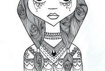 Drawings. Art.