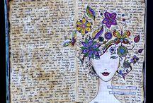JOURNALS, SKETCHBOOKS & ALTERED BOOKS / Sketchbooks and Altered Books and Decorative Journals