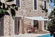 Natursteinhaus naturalstonehouse / Stone House with Limestones and Gneiss Quarzite Gardenstonehouse