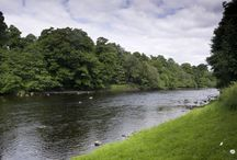 Fishing at Chipchase / Sail through our fishing photos, on crisp Tyne waters.   http://www.chipchasecastle.com/