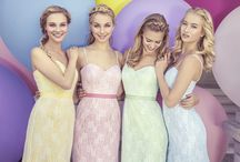 Pastel Prom / Planning the perfect prom? Here is some pastel coloured inspiration!