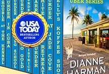 Cedar Bay Cozy Mystery Series / Mystery books with dogs, food & recipes.