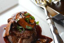 carne con salsas