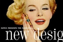 Vintage Cosmetic Ads / 80s 70s vintage ads / by D M K Weiss