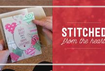 Stitched from the Heart – Stitched Shapes Framelits