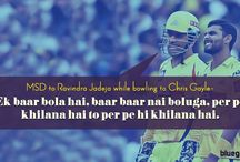 MSD Comment / Some funny comment said By MS Dhoni.