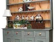 irish pine hutch
