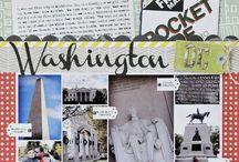 Washington DC scrapbook ideas
