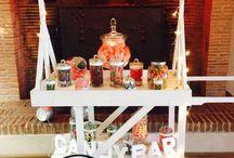 Inspirations de Candy Bar / Quelques idées de Candy bar Weddzy originaux pour ravir vos invités les plus gourmands.