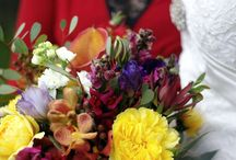 An Autumn Country Wedding / A rustic country wedding.  Colours inspired by Autumn