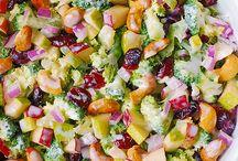 Slaw and salads