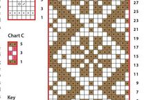 neulekuvioita/knitting/crocheting pattern