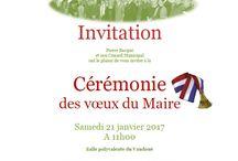 Affiches d'événements / Les affichages des événementiels de la commune du Vaudoué