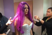 Purple Sillas