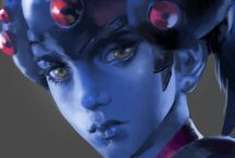 Widowmaker / Please support these talented artists~  ☆All photos contain sauce☆