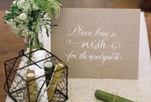Guest book & Advise & Wishing Well Ideas