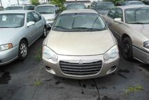 Used 2004 Chrysler Sebring for Sale ($3,000) at Paterson, NJ / Make:  Chrysler, Model:  Sebring, Year:  2004, Body Style:  Tractor, Exterior Color: Gold, Vehicle Condition: Excellent, Mileage:132,000 mi,  Engine: 4Cylinder L4, 2.4L; DOHC 16V, Transmission: 4 Speed Automatic, Fuel: Gasoline Hybrid.   Contact; 973-925-5626   Car Id (56676)