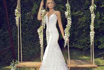 Vestidos de Noiva | Wedding Dresses / + Inspirações para seu casamento você encontra aqui: www.noivasdobrasil.com.br