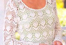 Crochet:blusas,túnicas e tops-2 / by Regina Azevedo