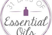 31 Days of Essential Oils