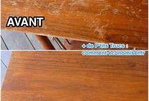 réparation de table