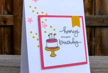 Stampin Up: Endless / Cards created with SU Endless Birthday and Thanks
