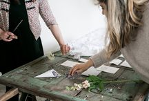 Behind The Scenes / This is me, mostly at work...I'm a workaholic, mum, partner and lover of all things bohemian, natural, floral and downright pretty.