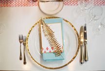 Decor and table settings...