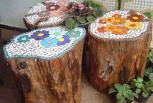 Aiya's Zen Garden Bench
