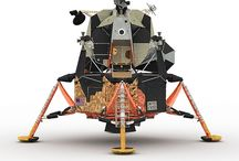 Lunar Module and Rover Vehicles / Lunar landing vehicle and lunar transportaton