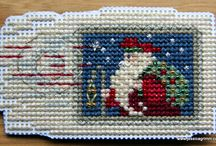 Crossstitch embroidery / Piece which have inspired me or that I have embroidered.