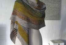 Knitting - scarves and shawls