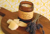 Natural Products and Information / Natural products made with lavender and other ingredients.