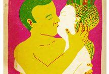 Illustration : : My friends' work / Les oeuvres d'art de mes amis - My friends' artwork