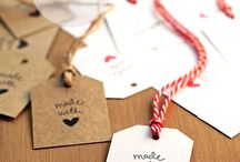 Wrapping and gift tags