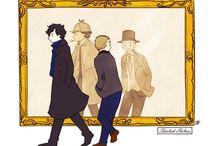 221b Baker Street / I Believe in Sherlock Holmes / by Rayya al-Zahra'