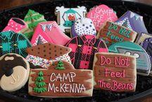 Glamping Party / camping party, glamping party, cub scout party ideas, girl scout party ideas