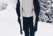 winter fashion new york snow
