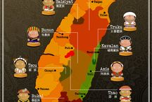 Taiwan & Infographics / Maps, infographics & fun creative interpretations of Taiwan