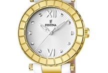 FESTINA - Golden Dream / Shiny dreams  Hours of light, bright minutes. Golden sparkles and rhinestones shape a collection where time is marked by glamour.