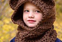 Tejidos Kids gorras guantes chalinas
