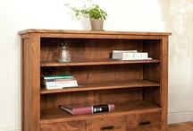 Bookcases / Hand-crafted bookcases and bookshelves in solid Mango, Sheesham and Acacia hardwoods, available in a range of sizes and styles to suit your home.