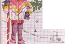 Cross stitch - sports