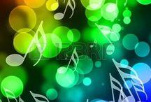 Fondos y Notas de Música