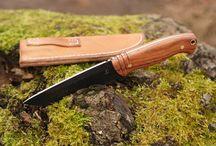 Survival knife Hunter / Model noża obozowego Hunter.