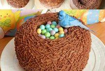 bolos e  festas